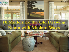 10 Modernize the Old Drawing Room with Modern Ways