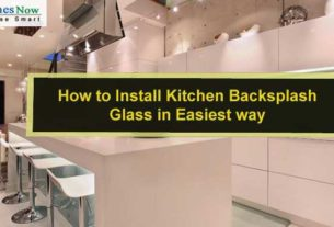 How to Install Kitchen Backsplash Glass in Easiest way?