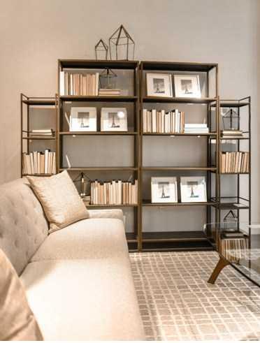Use bookshelves for more than books